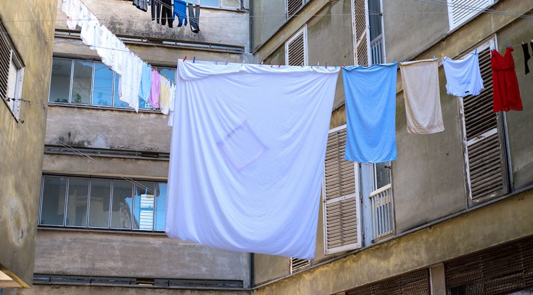 Drying of laundry