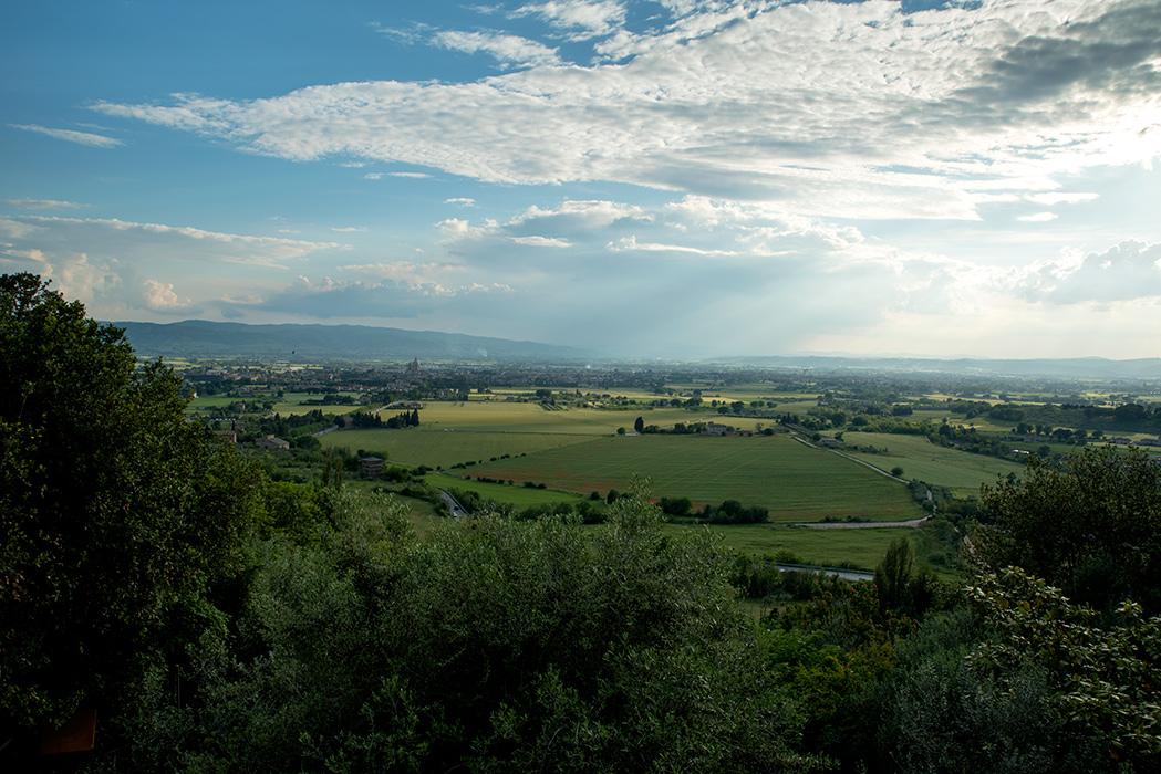 Pogled na Assisi