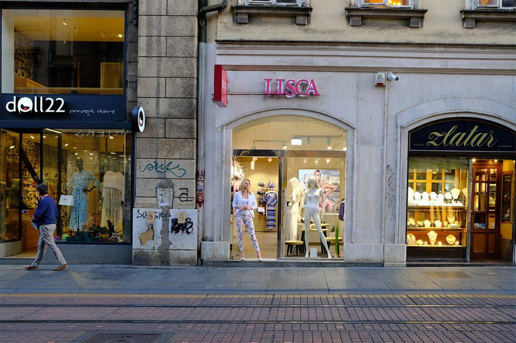 Zagreb. Ilica