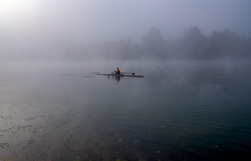 Veslač u magli